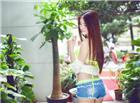 ALICE梁紫轩比基尼牛仔短裤性感辣图