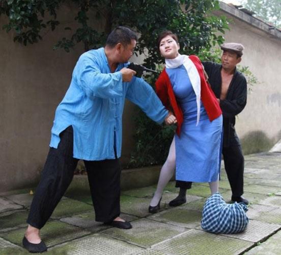江姐受刑过程图片